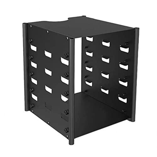 Boîte de support de rack de rack de rack disque dur avec 5 couches de stockage