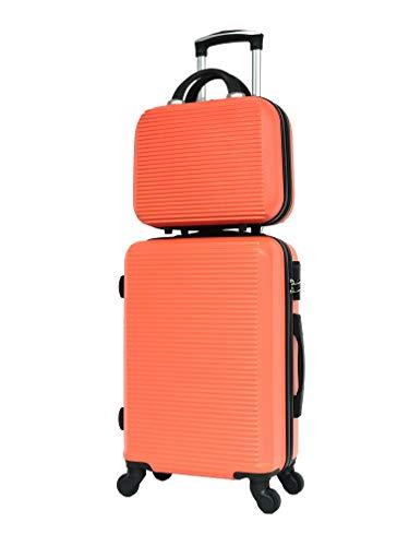 ABS Maleta tamaño cabina y Vanity Case