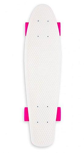 Miller Skateboards Longboard Baby Original Series, Fluor White, S01BM0015