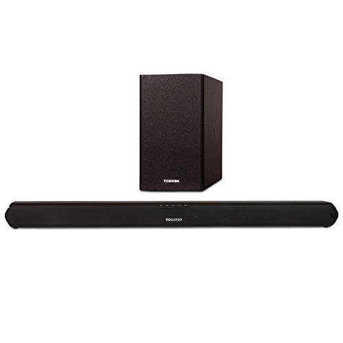 Toshiba TY-WSB600 2.1 Channel Bluetooth Soundbar TV Speaker: Sound Bar...