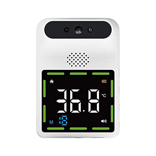 LSB-SHOWER Nuevo termómetro infrarrojo montado en la Pared sin Contacto Digital Temperatura de la Frente Fiebre Alarma Bluetooth 11 Idiomas (Size : Basic)
