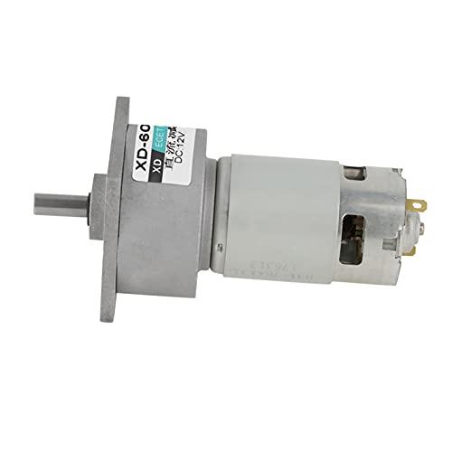 Micromotore, motore CW/CCW DC Motoriduttore reversibile Riduttore di velocità del motore Riduttore per dispositivi di sicurezza per tapparelle elettriche(12v30 turn)