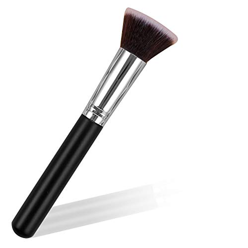 Foundation Make Up Brush Kabuki Flat Top Makeup Brushes, Perfect for Blending Liquid, Application for Concealer, Powder, Cream or Flawless Powder Cosmetics