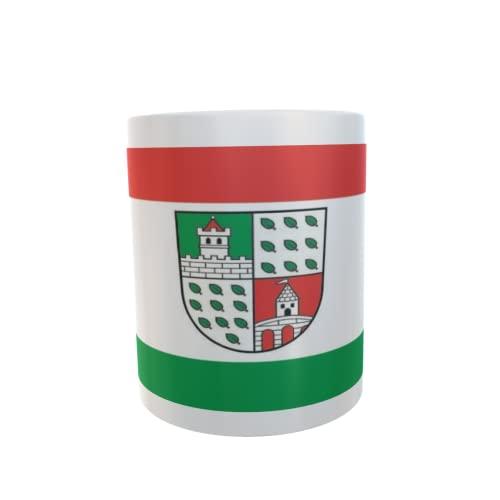 U24 Tasse Kaffeebecher Mug Cup Flagge Uebigau-Wahrenbrück