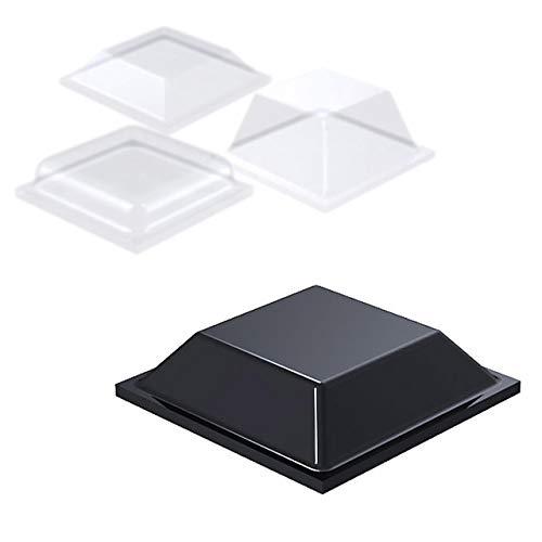 ELASTIKPUFFER SELBSTKLEBEND | Quadratisch | Größe, Menge & Farbe wählbar