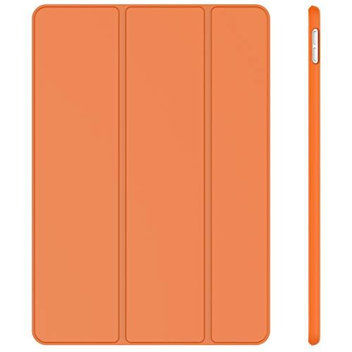 JETech Hülle Kompatibel iPad Air 10,5 (3. Generation 2019) & iPad Pro 10,5 2017, Schutzhülle mit Ständer Funktion & Auto Schlafen/Wachen, Papaya