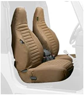 Bestop 29226-37 Spice Front High Back Seat Cover Set for 1997-2002 Wrangler TJ (sold as pair)