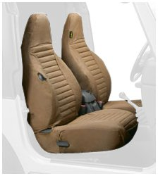 Bestop 2922637 Spice Seat Covers for Front High-Back Seats - Jeep 1997-2002 Wrangler; Sold as Pair; Fit Factory Seats