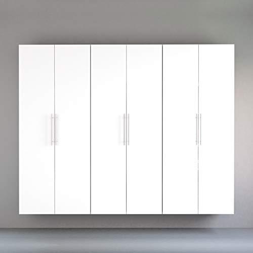 Prepac J HangUps Storage Cabinet Set, 3 pc, White