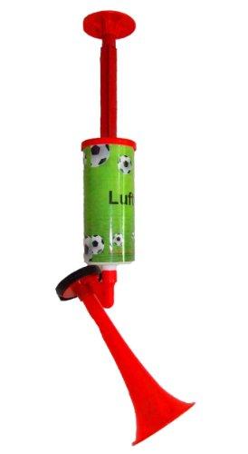 FUS Lufthorn Fanfare mit Luftpumpe ohne Gas groß