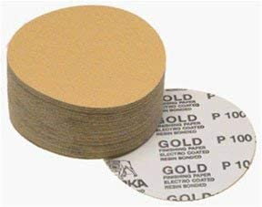 Mirka Abrasives Gold 6 Psa Linkroll Disc 150g 23-342-150