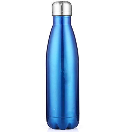 zyy Botella De Cola De Acero Inoxidable Termo Taza 1000ML Taza Creativa...
