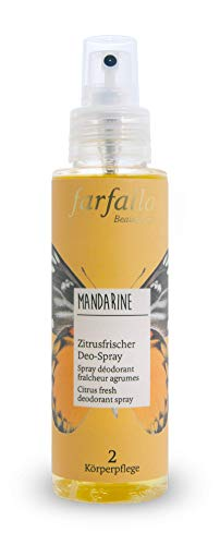 farfalla Mandarine, Zitrusfrischer Deo-Spray, 100 ml