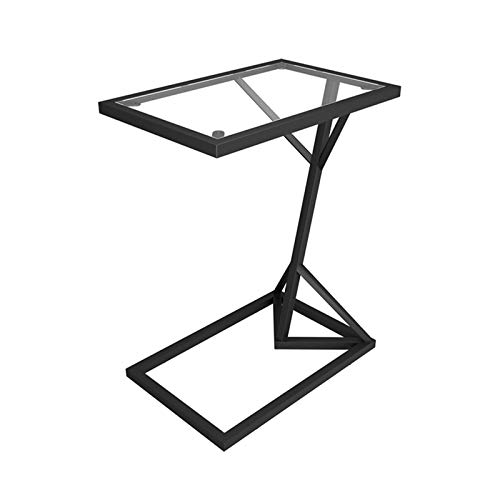 Home-table Mesas Laterales De Cristal, Mesas De Consola Estrechas Simples para El...