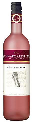 Württemberger Wein Schwarzriesling Rosé QbA trocken Eiserne Hand (1 x 0.75 l)