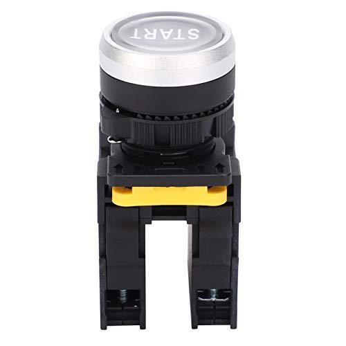 Interruptores de botón pulsador de botón a prueba de agua de arranque Interruptor de empuje de emergencia Herramientas manuales de reinicio automático Interruptor de arranque del motor 10A AC220V