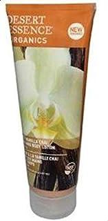 Desert Essence Organics Body Care Hand and Body Lotion, Spicy Vanilla Chai, 8-Ounces