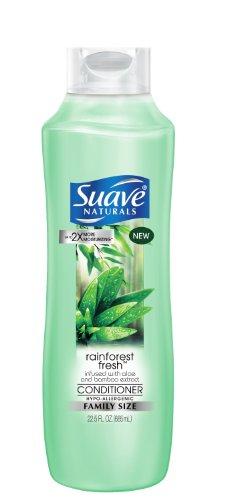 Suave Naturals Conditioner, Rainforest Fresh, 22.5oz