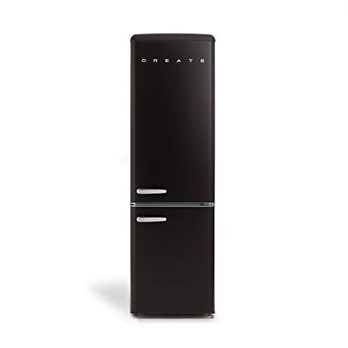 Create IKOHS FRIDGE STYLANCE – Réfrigérateur Combi 244L (Noir)