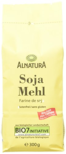 Alnatura Sojamehl, 6er Pack (6 x 300 g)
