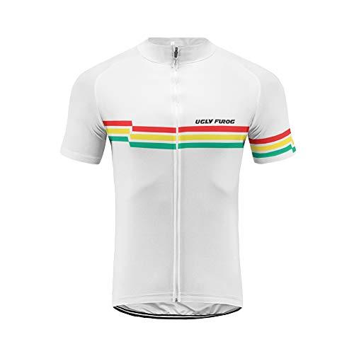 Uglyfrog Bike Wear- Ropa Ciclismo MTB, Maillot sin Manga, Hombre Camiseta Verano...