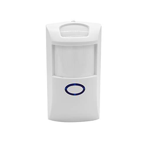 OWSOO PIR2 433 MHz PIR Bewegungssensor Wireless Dual Infrarot Detektor RF Smart Home Automation Alarmanlage für Amazon Alexa & Google Home, 1 STÜCK