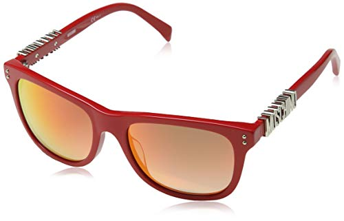 Moschino MOS003/S Moschino Sonnenbrille Mos003/S Wayfarer Sonnenbrille 53, Rot