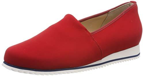 Hassia Damen Piacenza, Weite G Slipper, Rot (Rosso 4100), 40 EU