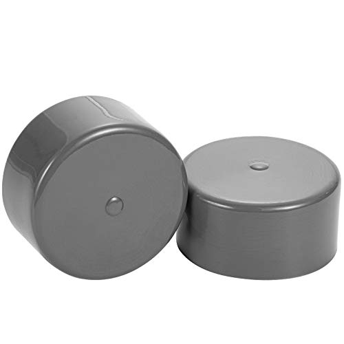 CZC AUTO Bearing Buddy Bras 1.98 Inch Rubber Caps Dust Covers Replacement for Bearing Partner Bra for Trailer Boat Wheel, 2 Pack