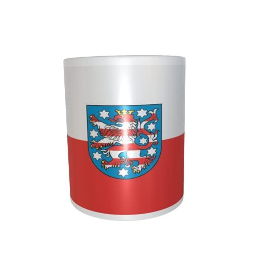 U24 Tasse Kaffeebecher Mug Cup Flagge Thüringen
