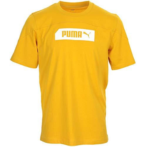 PUMA Nu-Tility tee Camiseta, Hombre, Golden Rod, L
