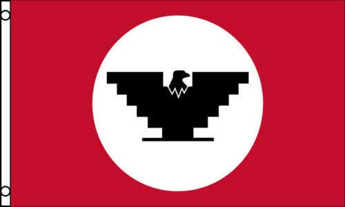 SUPERPUPERFLAG ONE New Garden United Farm Workers Flag 3x5 ft UFW Union Black Eagle Logo Farmers Labor Fields for Your Garden, Home and Any Parties, All Weather Indoors Outdoors, in Any Weather