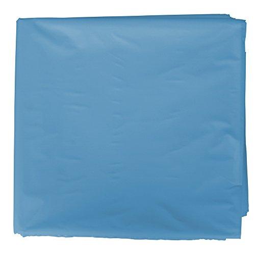 Fixo 72231 - Pack de 25 bolsas disfraz, 56 x 70 cm, color azul claro