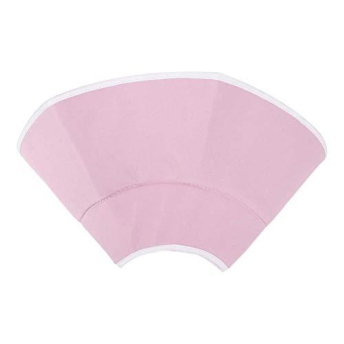 Shipenophy con Gancho y Bucle Ajustable Collar Protector de recuperación curativa para Gatos Cat Elizabeth Circle 2 Colores para Mascota Gato Perro(Pink, L)