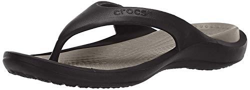 Crocs Unisex-Erwachsene Flip Flops Zehentrenner, Schwarz (Black/Smoke), 37/38 EU