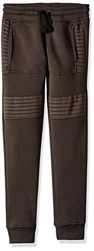 Southpole - Kids Big Boys Active Basic Jogger Fleece Pants, Olive Biker, Large