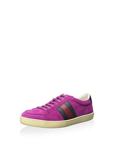 Gucci Damen Lowtop Sneaker, (Fuchsia), 38.5 EU