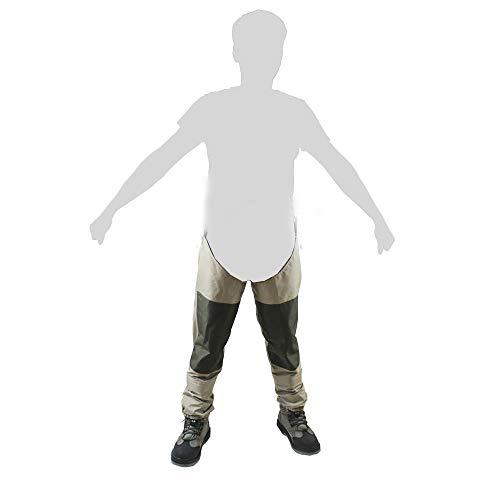 Kylebooker Vliegvis Waadpakken Broeken Duurzame weerbestendige wadende broek met TRICOT-stof KB003