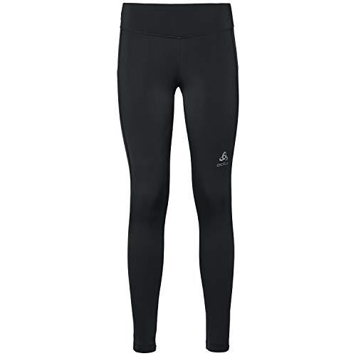 Odlo Damen Laufhose Tights Element Warm, Black, S, 322071