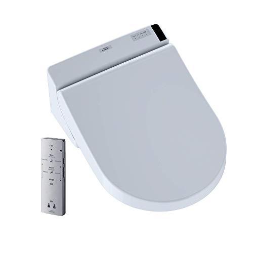 Toto SW2047T20#01 Washlet C200 Connect+ D-Shape Bidet Toilet Seat with PreMist, Cotton