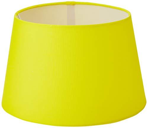 Oaks Lighting Baumwoll-Trommelschirm, 12 Zoll, gelb, Stoff