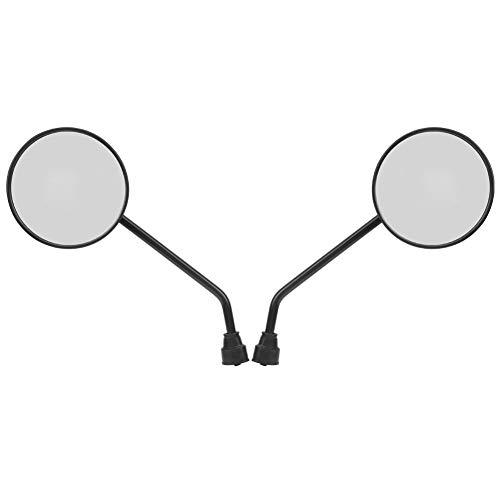 CHICIRIS Mano de Obra Exquisita Fácil de Instalar 2 Espejos retrovisores PCS, Espejos retrovisores de Motocicleta Resistentes y duraderos, Accesorios de plástico Seguros y confiables para Bicicletas