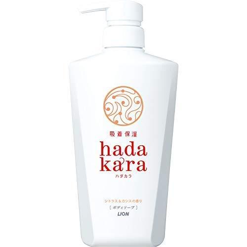 hadakara(ハダカラ)ボディソープ シトラス&カシスの香り 本体 500ml × 10個セット