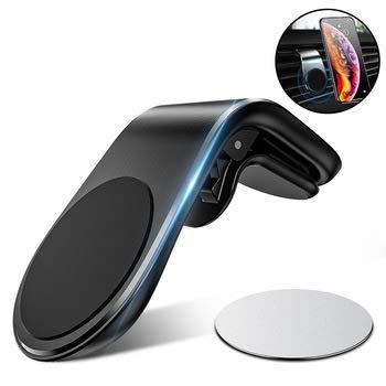 UTECH Soporte magnetico para movil Coche, Mini iman Potente Duradero para telefono Universal ventilacion, para iPhone Smartphone