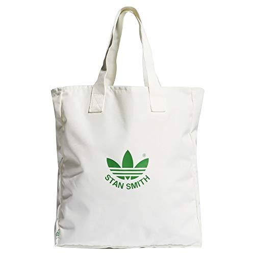 adidas GN3205 STAN SHOPPER Gym Bag unisex-adult core white/green NS