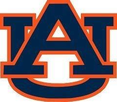 Auburn Tigers (AU) Decal (11 1/2x10 1/8)
