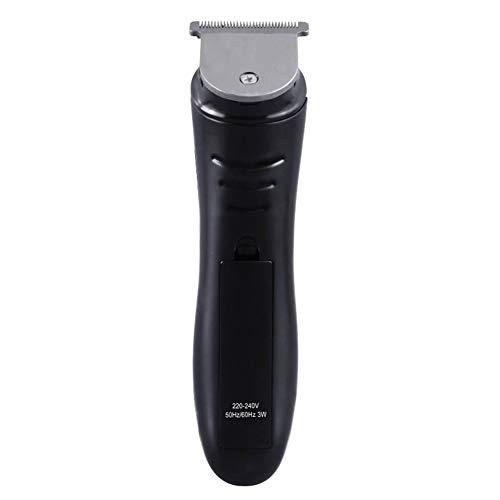 Profi Haarschneider mit T-Klinge, Elektrische Wasserdicht Haarschneidemaschine mit LED-Anzeige, Herren Bartschneider Haartrimmer, Trimmer für Nasen Ohren& Augenbrauenhärchen, Detailtrimmer-Aufsatz
