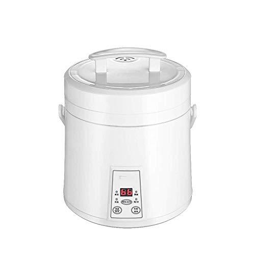 WCJ Hogar Multifuncional Cocina de arroz, Vapor eléctrica sartén Antiadherente, cocción automática, fácil de Limpiar, la protección de Alta Temperatura, el Tiempo de temporización