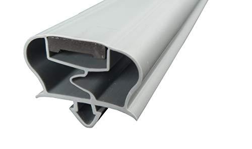 Guarnizione magnetica profilo grande A – 2500 mm con nastro magnetico – Colore: grigio (guarnizione per frigorifero)