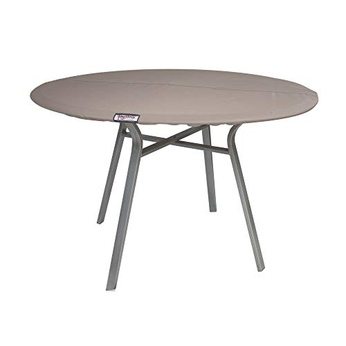 Raffles Covers NW-RRTT110 Abdeckplane für eine runde Tischplatte Ø 110 cm Gartentisch Tischplatten Abdeckung, Tischplattenhaube